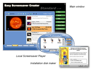 Click to view Easy Screensaver Creator-Standard 2.3 screenshot